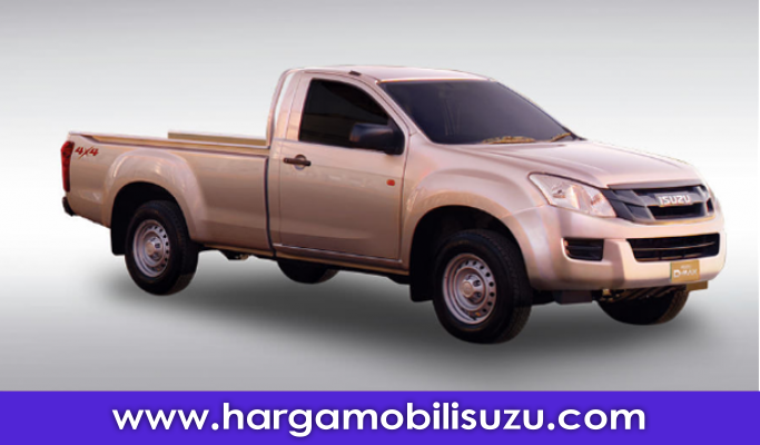 ISUZU D-MAX SINGLE CAB 2.5 M/T VGS 2500 CC